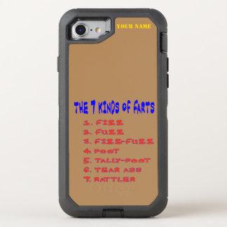 7 Kind of Farts OtterBox Defender iPhone 7 Case