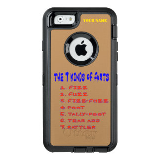 7 Kind of Farts OtterBox iPhone 6/6s Case