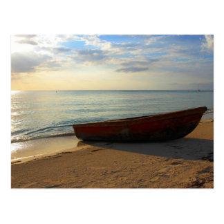 7 Mile Beach Sunset Postcard