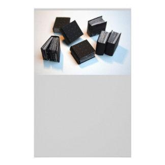 7 miniature books personalized stationery