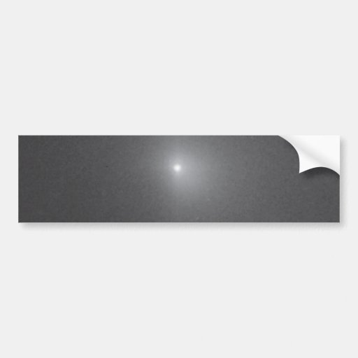 7 Minutes After Deep Impact Collision Bumper Sticker