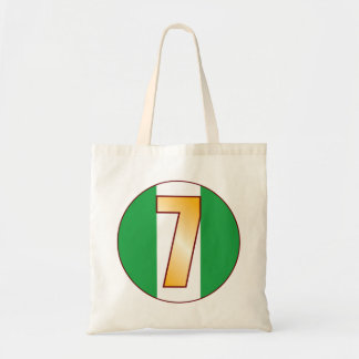 7 NIGERIA Gold Tote Bag