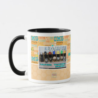 7 out ov 7 kittehs mug