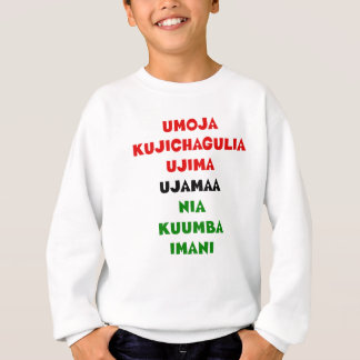 7 Principles of Kwanzaa Sweatshirt