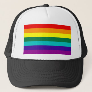 7 Stripes Rainbow Gay Pride Flag Hat