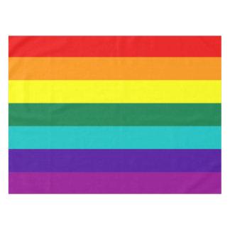 7 Stripes Rainbow Pride Flag Tablecloth