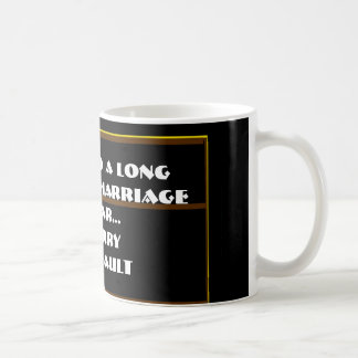 7 Words To A Long And Happy Marriage - Coffee Mug
