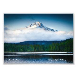 "7"" x 5"" Mount Hood from Trillium Lake Photo Print"
