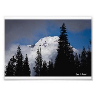 """7"""" x 5"""" Mount Hood, Oregon Photo Art"""