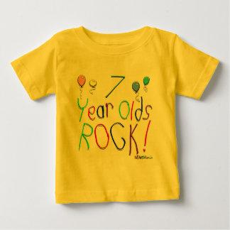 7 Year Olds Rock ! Tshirts