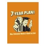 7 Year Plan: Everyone Needs a Goal