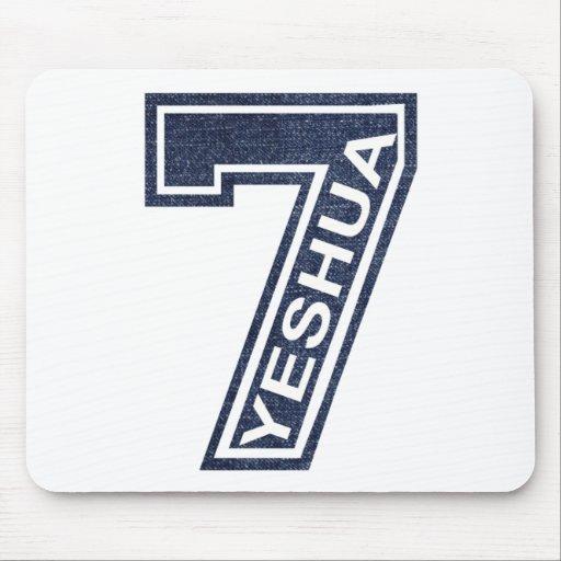 7 Yeshua Oblique Jean's Mousepad