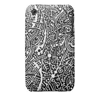 7A Psyart texture iPhone 3 Case-Mate Cases