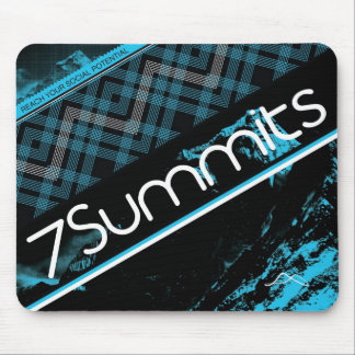 7Summits Blue Plaid Mouse Mat