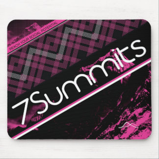 7Summits Magenta Plaid Mouse Mat