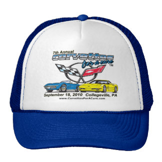 7th Annual Corvettes for a Cure Hat