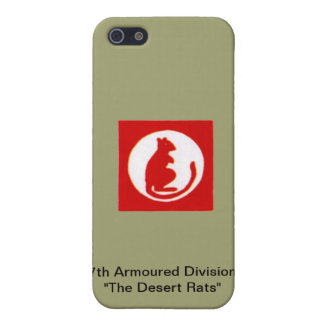 "7th Armoured Division""The Desert Rats"" iPhone 5/5S Case"