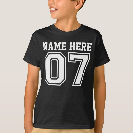 7th Birthday (Customisable Kid's Name) T-Shirt