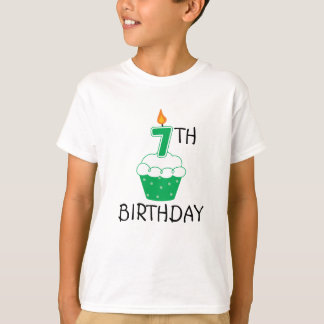 7th Birthday Kids T-Shirt