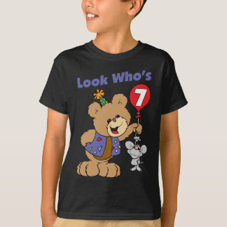 7th Birthday Teddy Bear T-Shirt