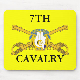7TH CAVALRY MOUSEPAD
