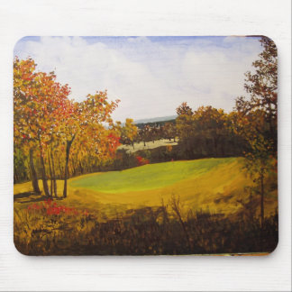 7th Hole Eagle Crest Golf Course Watercolor Mouse Mat