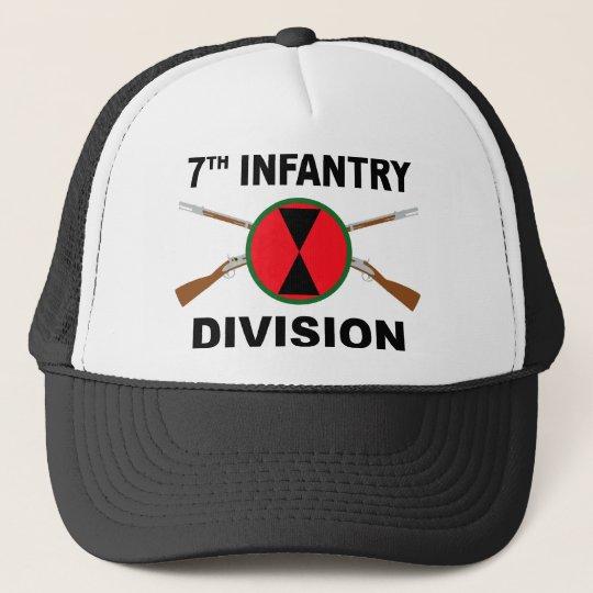 7th Infantry Division - Crossed Rifles Cap