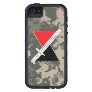"""7th Infantry Division """"Hourglass Division"""" DUI Tough Xtreme iPhone 5 Case"""