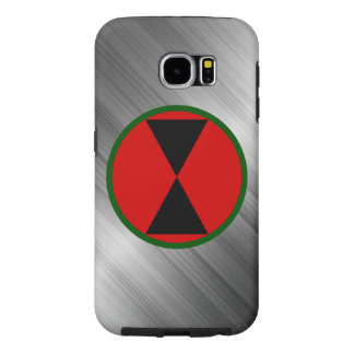 """7th Infantry Division """"Hourglass Division"""" Samsung Galaxy S6 Cases"""
