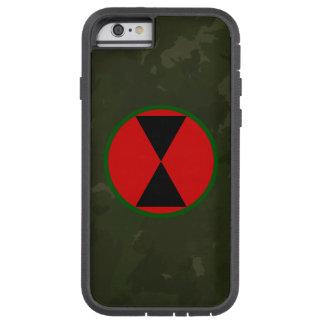"""7th Infantry Division """"Hourglass Division"""" Tough Xtreme iPhone 6 Case"""