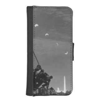 7th March 1970:  Ten separate exposures iPhone SE/5/5s Wallet Case