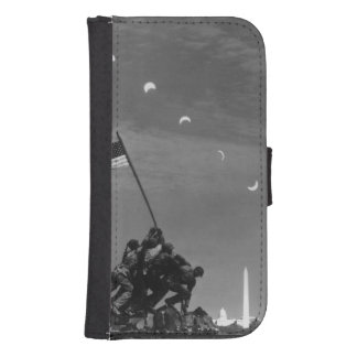 7th March 1970:  Ten separate exposures Samsung S4 Wallet Case