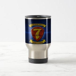 7th Marine Regiment Travel Mug