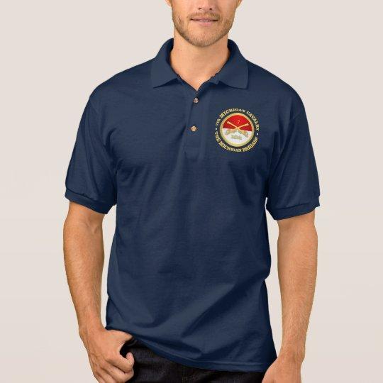 7th Michigan Cavalry (rd) Polo Shirt