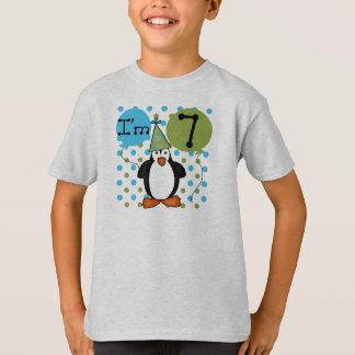 7th Penguin Birthday T-Shirt