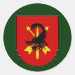 7th SFG(A) - Kandahar, Afghanistan UA Round Stickers
