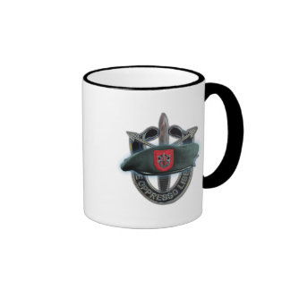 7th Special forces green berets flash Mug