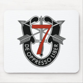 7th Special Forces Group Crest Mouse Mat