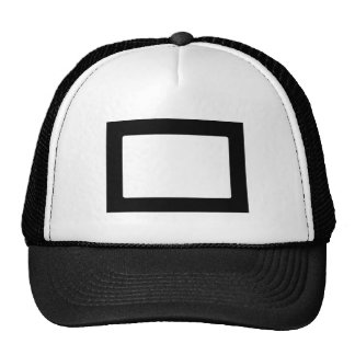 7X5 Card with Round Inside Conors Transp Black Hat
