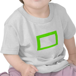 7X5 Card with Round Inside Conors Transp GreenLt Tshirt