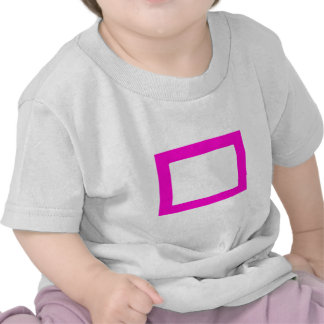 7X5 Card with Round Inside Conors Transp Magenta Tee Shirts
