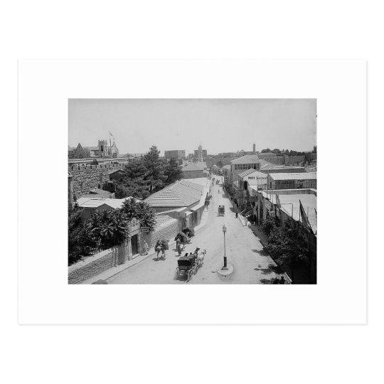 800px-JaffaStreet[1] Postcard