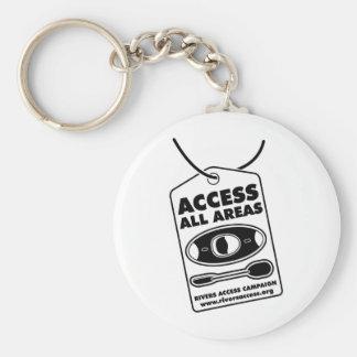 80 Access 1 Key Ring