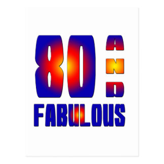 80 And Fabulous Post Cards