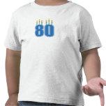 80 Birthday Candles (Blue / Green)