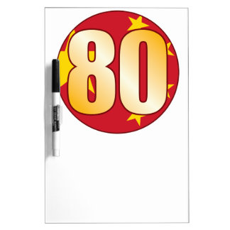 80 CHINA Gold Dry-Erase Boards