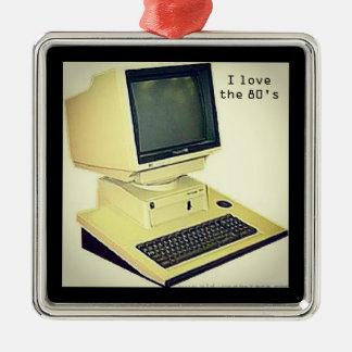 80' computer Silver-Colored square decoration