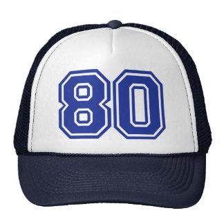 80 - eighty cap
