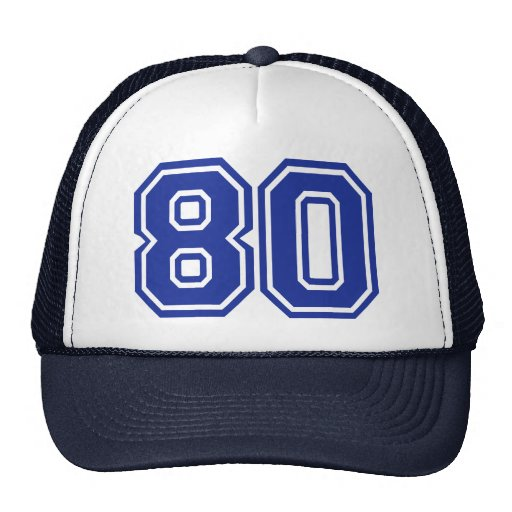 80 - eighty mesh hats
