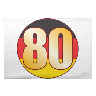 80 GERMANY Gold Placemat